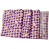 Tinni Cutie Pie New Born Baby Diaper Changing Mat With Kitty,Flower And Check Print And Multi Colour Made By Group Of Mothers 0-2 Years