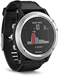 Garmin Fenix 3 Silver HR - Montre GPS Multisports Outdoor avec Cardio Poignet