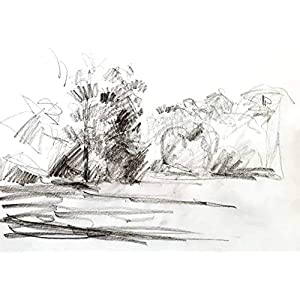 Gemälde Sanssouci Karton Wohnzimmer Bilder Wand Bilder Bilder Büro Bild groß Gemälde Kunst Wanddekoration Graphik Karton Handmade Bilder Exclusiv Bild A4 Original Geschenk Weihnachtsgeschenk Unikat