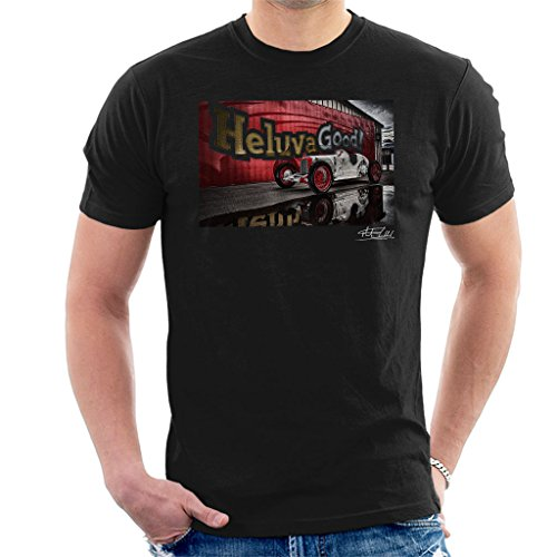 Martyn Goddard Official Photography - HCS Special Distressed Effect Indy Racer Men's T-Shirt