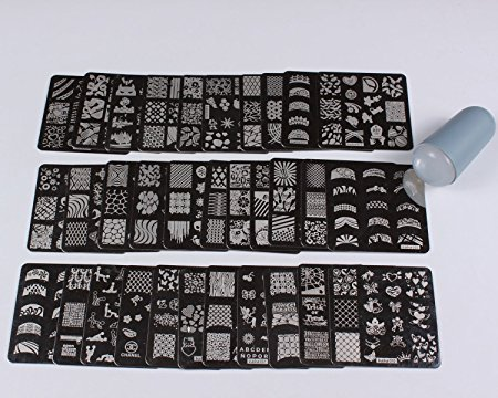 finger-angel-nail-image-stamps-plate-61cm-x-61cm-32pcs-stamping-manicure-nail-art-templates-with-sof