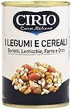 Cirio - Legumi e Cereali, Borlotti, Lenticchie, Farro e Orzo - 410 g