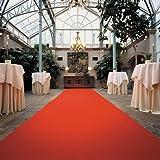 Roter Teppich - Hochzeitsteppich - VIP Teppich (4,50EUR/m²) - 1,50m breit