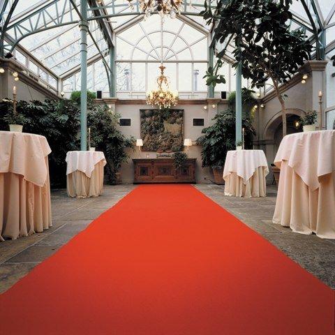 Roter Teppich - Hochzeitsteppich - VIP Teppich (4,50EUR/m²) - 1,50m breit (Teppich Rot)