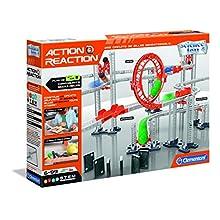 Clementoni- Action & Réaction-Premium Set- 52400