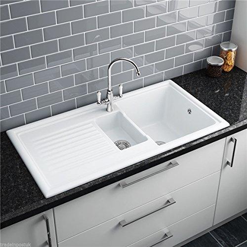 White Kitchen Sink: Amazon.co.uk
