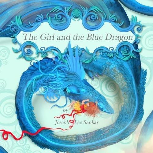The Girl and the Blue Dragon Kind Pink Dragon Girl