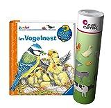 Ravensburger Junior Kinder-Buch Band 39 | Im Vogelnest + Bauernhof Tiere Poster by Collectix