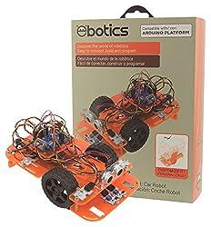 KSIX Code & Drive Robotik und Programmierung DIY-Kit mit dem Build EIN Auto Roboter und Programme Ihr Verhalten
