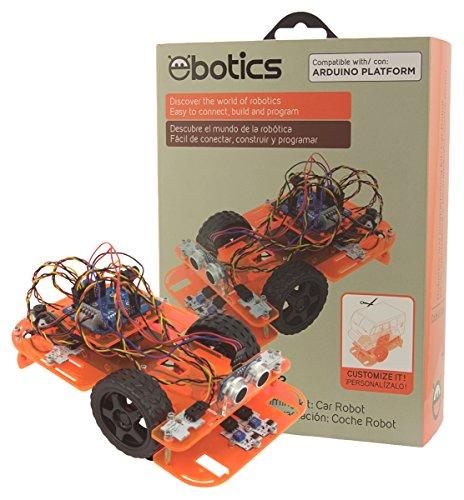 Ksix Code&Drive - Kit de robótica y programación DiY con el cual construyes un coche robot y programas su comportamiento