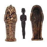 Sharplace Dekofigur, Ägypten Pharao Harz Mumie Kultur Figur Modell