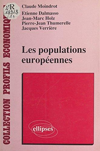 Les Populations européennes