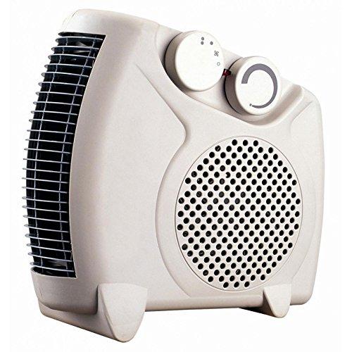Termoventilador silencioso - Ventilador aire caliente y frio con regulación de temperatura - Termoventiladores...
