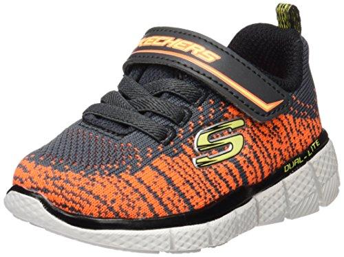 Skechers Jungen Equalizer 2.0 Sneakers, Grau (ccor), 21 EU -