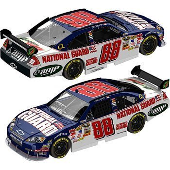 Guard Dale Jr (Action Racing Collectibles Dale Earnhardt, Jr. '09 National Guard #88 Impala, 1:24 by Action Sports Image)