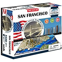 4d Cityscape San Francisco History Time: 1,130 Pieces