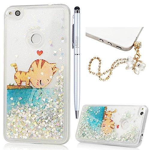 Cell Phone Accessories Cell Phones & Accessories Temperate Custodia Rigida Gommato Per Huawei P8 Lite 2017 Protettiva Cover Case Easy To Use