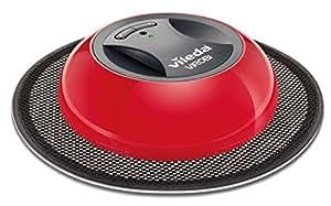 Vileda Virobi 150484 Robotic Mop with Refill Combo (Red/Black)