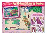 #10: Melissa & Doug Peel and Press Sticker by Number - Fairytale Princess, Multi Color