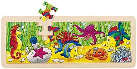 L'achat en deux parties est poli, très satisfait Goki Jouetprive-Puzzle de la Vie sous-Marine | Excellent (dans) La Qualité