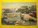 Antigua Postal - Old Postcard : Le Port des Pêcheurs et les Hôtels - BIARRITZ - Francia