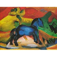Artifact Puzzles - Franz Marc 1912 Blue