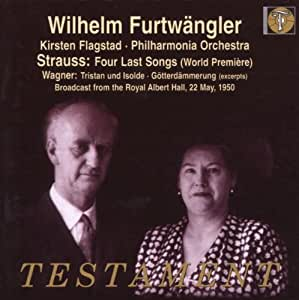 R. Strauss: Vier letze Lieder / Wagner: Tristan und Isolde, Götterdämmerung