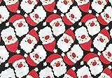 Oddies Textile-Polycotton Stoff – Weihnachtsmann ~ Santa