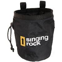 Singing Rock - Bolsa de tiza para escalada (tamaño pequeño), color negro
