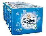 Scottex Carta Igienica decorato arricchito in cotone Pack di 96rotoli