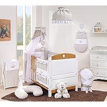 Solenzo \u2013 Parure da letto + materasso + letto evolutivo per bambini 70 x  140 cm
