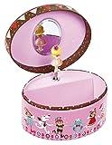Best Disney regalos para recién nacido Chicas - Janod juguete–Parte reloj Joyero Minus chka ovalado, multicolor Review