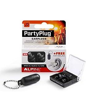Alpine AMS-PARTYPLUG-BLK - Tapones para los oídos, color negro