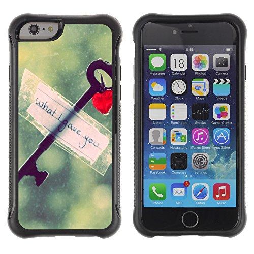 """Graphic4You """"Love Memories With You"""" Design Shockproof Anti-Rutsch Weichen Hülle Case Tasche Schutzhülle für Apple iPhone 6 / 6S Design #4"""