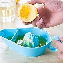 YC Hongda Manual exprimidor naranja zumo de naranja limón frutas herramienta cítricos Squeezers Lima eléctrica accesorios de cocina herramientas de cocina Gadgets azul