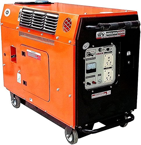 Gastech Bio Power Gastech GE 3000PS 2800 VA Silent Portable Generator- Petrol + LPG