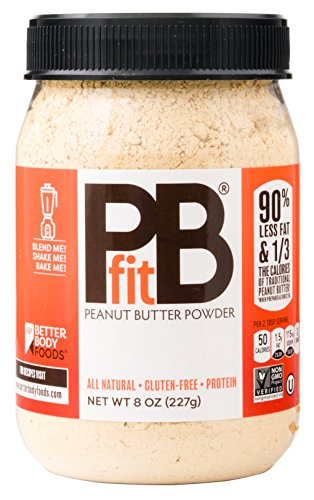 Fit Powder, Chocolate Peanut Butter, 8 Ounce by BetterBody Foods & Nutrition ()