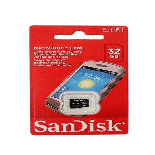 Sandisk 32 GB MicroSD Card Class 4 Memory Card