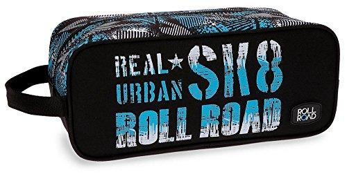 Roll Road Sk8 Bolsa de Viaje, 34 cm, 7.14 Litros, Multicolor