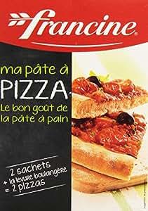 francine pr 233 paration pour p 226 te 224 pizza 510 g fr pantry