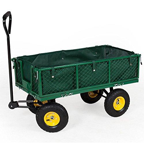 TecTake Chariot de Transport Charrette à bras - diverses tailles au choix - (Typ4 (Art. 400973))