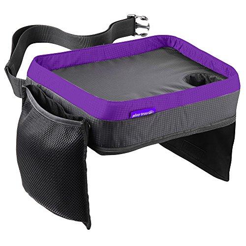 Preisvergleich Produktbild Creative-7 Reisetablett für Kinder, zum Essen oder Spielen, für Autositz oder Hochstuhl, auch als Tasche mit Reißverschluss zu verwenden