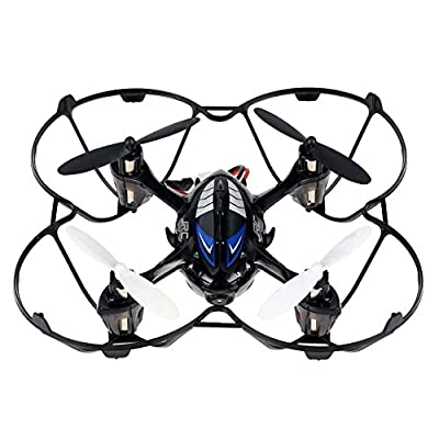 3D Quadcopter Drone, Megadream 360 Degree Rotation Flips Aircraft Quadcopter RTF 4CH Mode 2 Quad Copter UAV with 2MP 720P HD FPV Real Time Aerial Camera + 2GB Memory Card + LED Light for Night Flying Toy Gift from Megadream