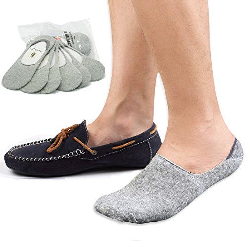 No Show Socks Womens Socks Low Cut Non-Slip Grips Casual Invisible Liner Boat Sock 6 Pack