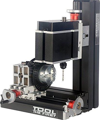 Perforatrice con Piastra divisoria Grande Potenza elettroplaccata Mini Metallo a Sei Alberi Perforazione e fresatrice Strumento Manuale