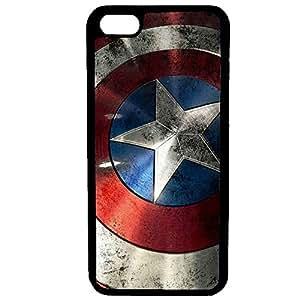 Aux Prix Canons - Etui housse coque Marvel Comics Avengers Antichoc Captain America iPhone 6 Plus - 6S Plus