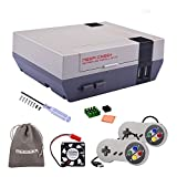 GeeekPi New Version! Retroflag NESPi Case+ Plus with USB Wired Game Controllers & Cooling Fan & Heatsinks for RetroPie Raspberry Pi 3/2 Model B & Raspberry Pi 3B+