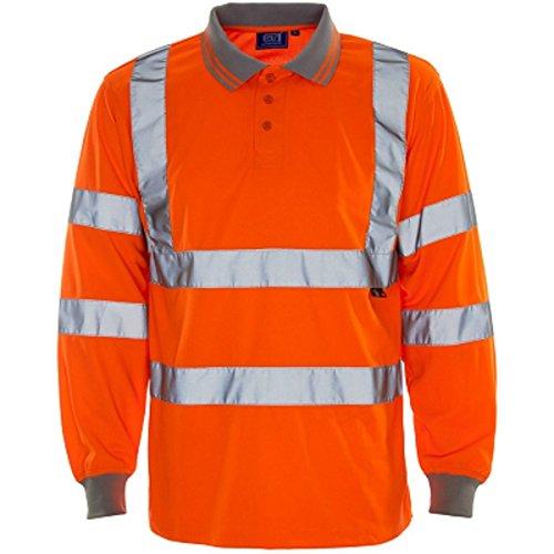 Army And Workwear -  Polo  - Maniche corte  - Uomo Orange Longsleevs