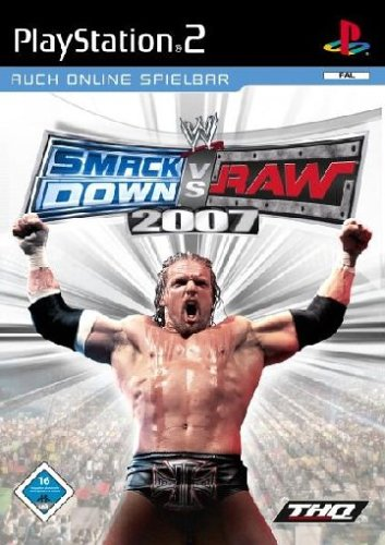 WWE Smackdown vs. Raw 2007 (Wrestling Ps2 Games)