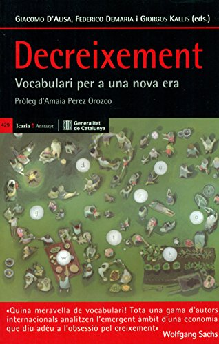 Decreixement (Antrazyt) por Giacomo  (ed.) D'alisa